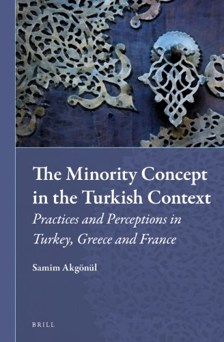 9789004222113: The Minority Concept in the Turkish Context: Practices and Perceptions in Turkey, Greece and France (Muslim Minorities)