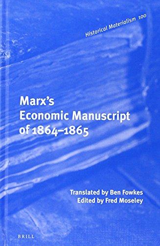 9789004223509: Marx's Economic Manuscript of 1864-1865 (Historical Materialism)
