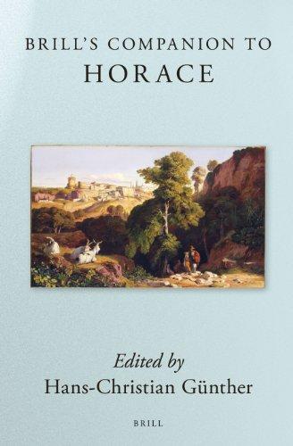 9789004223622: Brill's Companion to Horace (Brill's Companions in Classical Studies)