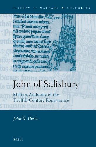 9789004226630: John of Salisbury: Military Authority of the Twelfth-Century Renaissance (History of Warfare)