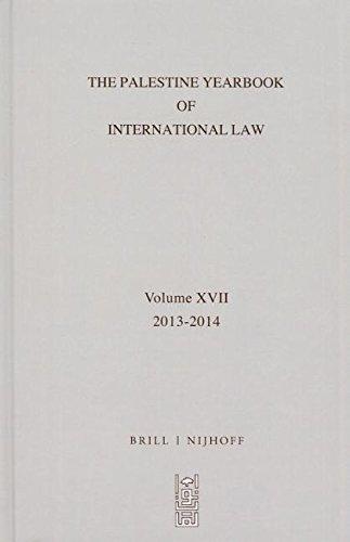 9789004227965: The Palestine Yearbook of International Law, Volume 17 (2013-2014)