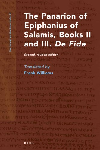 The Panarion of Epiphanius of Salamis, Books II and III. De Fide: Second, revised edition (Hardback)