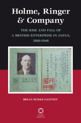 9789004230170: Holme, Ringer & Company: The Rise and Fall of a British Enterprise in Japan, 1868-1940