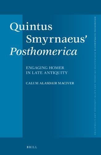 Quintus Smyrnaeus' Posthomerica: CALUM ALASDAIR MACIVER.