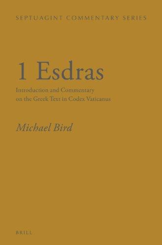 1 Esdras: Bird, Michael F.