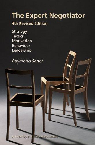 9789004233904: The Expert Negotiator: Strategy Tactics Motivation Behaviour Leadership