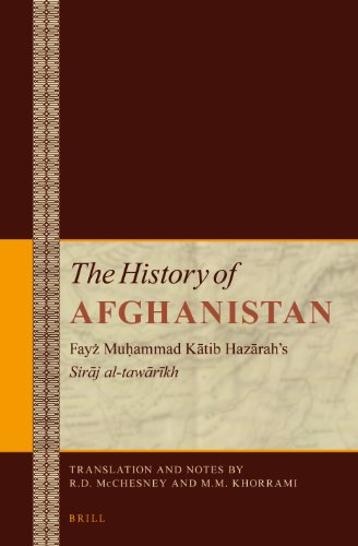9789004234918: The History of Afghanistan: Fayz Muhammad Katib Hazarah's Siraj Al-tawarikh - 6 Vol. Set