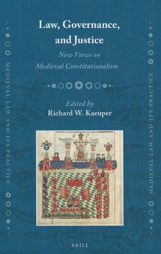 9789004235908: Law, Governance, and Justice: New Views on Medieval Constitutionalism (Medieval Law and Its Practice)