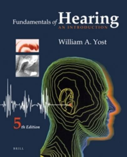 9789004236387: Fundamentals of Hearing: An Introduction: Fifth Edition