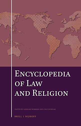 9789004236936: The Encyclopedia of Law and Religion (Set)