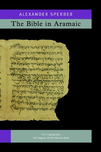 9789004242333: The Bible in Aramaic. vol. 2: Based on Old Manuscripts and Printed Texts. Vols IVa-IVb (The Bible in Aramaic. (2 vols.)) (Aramaic Edition)