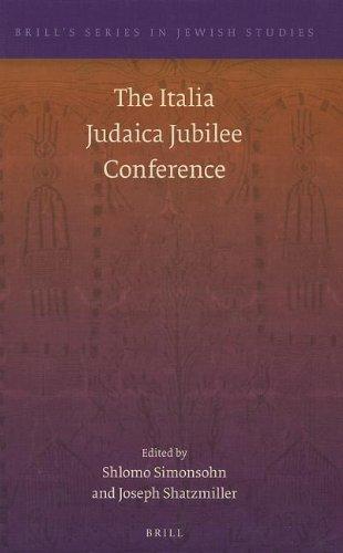 The Italia Judaica Jubilee Conference: Simonsohn, Shlomo (edt)/