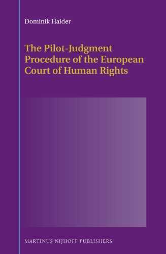 9789004246416: The Pilot-Judgment Procedure of the European Court of Human Rights