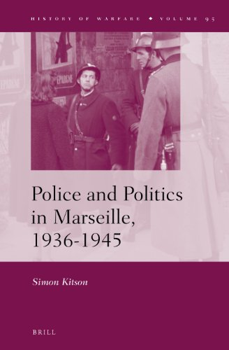 Police and Politics in Marseille, 1936-1945: Simon Kitson