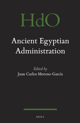 9789004249523: Ancient Egyptian Administration (Handbook of Oriental Studies: Section 1, the Near & Middle East)