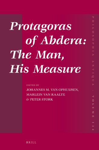 9789004251205: Protagoras of Abdera: The Man, His Measure (Philosophia Antiqua)