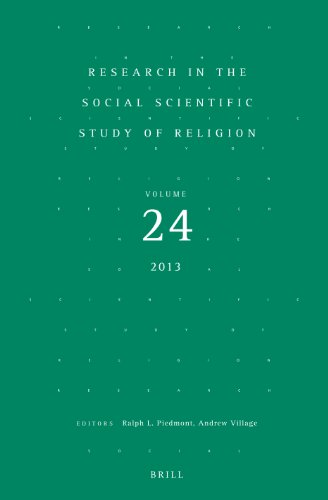 Research in the Social Scientific Study of Religion: Volume 24: Ralph L. Piedmont