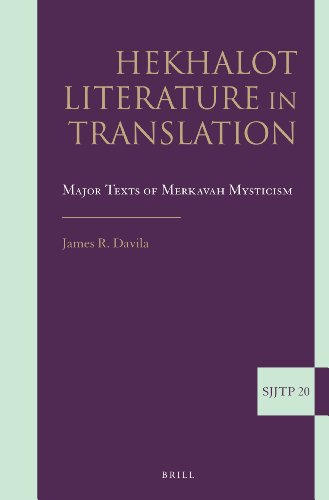 9789004252158: Hekhalot Literature in Translation: Major Texts of Merkavah Mysticism (Supplements to the Journal of Jewish Thought and Philosophy)