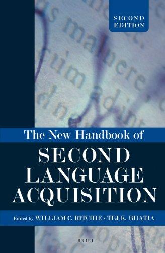 The New Handbook of Second Language Acquisition: Ritchie, William C.