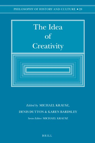 9789004256828: The Idea of Creativity (Philosophy of History and Culture)