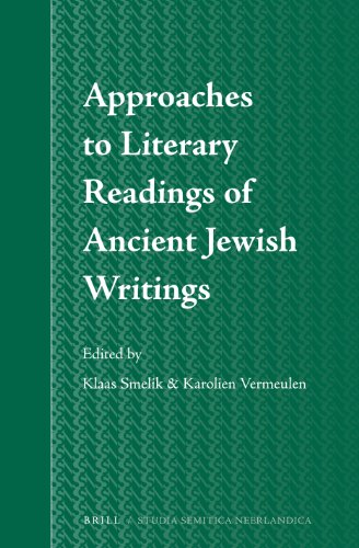 9789004258198: Approaches to Literary Readings of Ancient Jewish Writings (Studia Semitica Neerlandica)