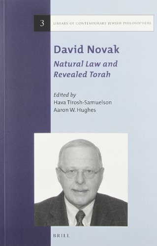9789004258204: David Novak: Natural Law and Revealed Torah (Library of Contemporary Jewish Philosophers)