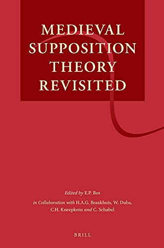 9789004259836: Medieval Supposition Theory Revisited
