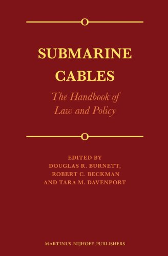 9789004260320: Submarine Cables: The Handbook of Law and Policy
