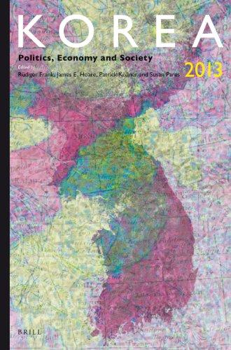 9789004261136: Korea 2013: Politics, Economy and Society (Korea Yearbook)