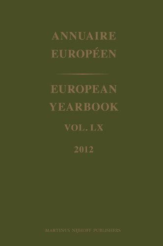 European Yearbook / Annuaire Europeen 2012: Volume 60 (Hardback)