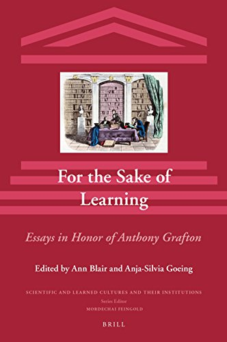 For the Sake of Learning (2 vols):