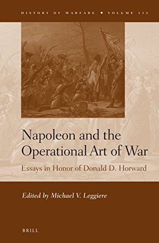napoleon and the operational art of war essays in  napoleon and the operational art of war