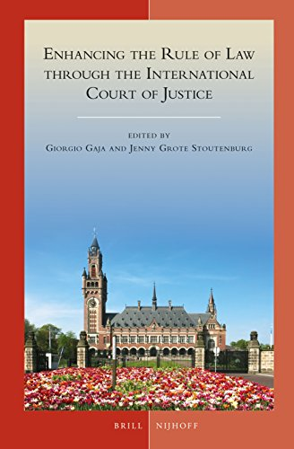 9789004273191: Enhancing the Rule of Law Through the International Court of Justice (Developments in International Law)