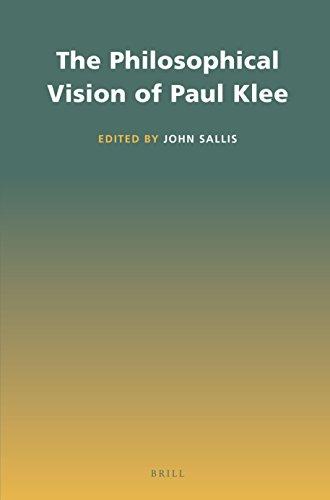 The Philosophical Vision of Paul Klee: Sallis, John (Editor)