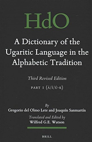 A Dictionary of the Ugaritic Language in the Alphabetic Tradition: Volume 2 (Hardback): Gregorio ...