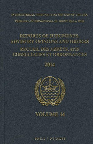 9789004290600: Reports of Judgments, Advisory Opinions and Orders / Recueil Des Arrets, Avis Consultatifs Et Ordonnances, Volume 14 (2014)