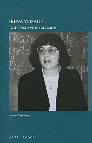 Irena Veisaite: Tolerance and Involvement: Yves Plasseraud