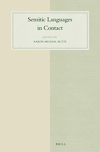 9789004300149: Semitic Languages in Contact (Studies in Semitic Languages and Linguistics)