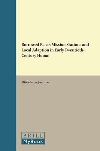 Borrowed Place (Religion in Chinese Societies): Riika-Leena Juntunen