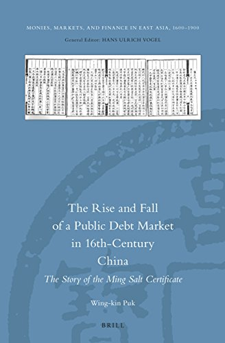 9789004305731: The Rise and Fall of a Public Debt Market in 16th-Century China: The Story of the Ming Salt Certificate (Monies, Markets, and Finance in East Asia, 1600-1900)