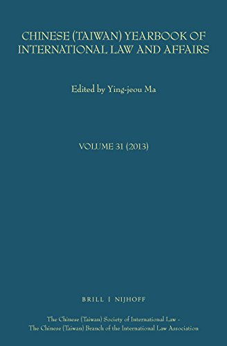 Chinese (Taiwan) Yearbook of International Law and Affairs
