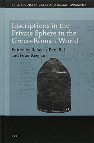9789004307117: Inscriptions in the Private Sphere in the Greco-Roman World (Brill Studies in Greek and Roman Epigraphy)