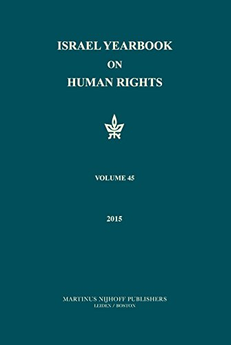 9789004308039: Israel Yearbook on Human Rights