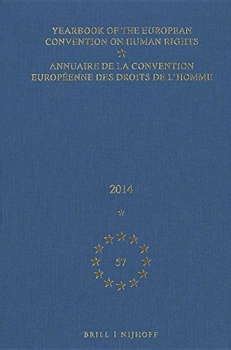 9789004311251: Yearbook of the European Convention on Human Rights 2014 / Annuaire de la convention européenne des droits de l'homme 2014 (English and French Edition)