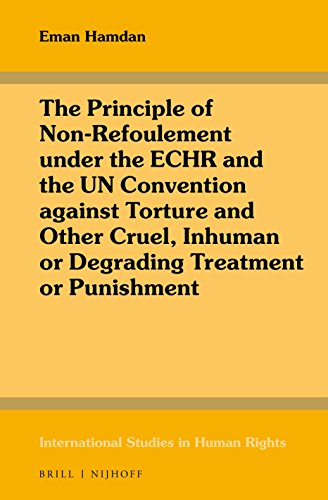 9789004319387: The Principle of Non-Refoulement Under the Echr and the Un Convention Against Torture and Other Cruel, Inhuman or Degrading Treatment or Punishment (International Studies in Human Rights)