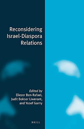 Reconsidering Israel-Diaspora Relations: Ben-Rafael, Eliezer (edt)/