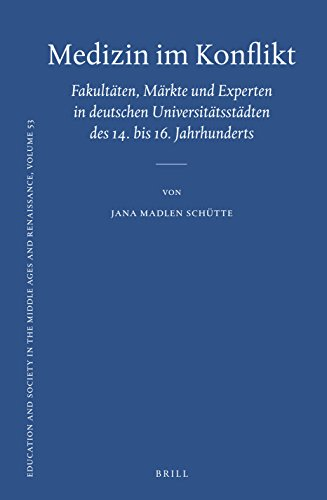 9789004331587: Medizin im Konflikt (Education and Society in the Middle Ages and Renaissance) (German Edition)