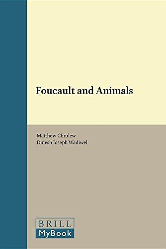 9789004332225: Foucault and Animals (Human-Animal Studies)