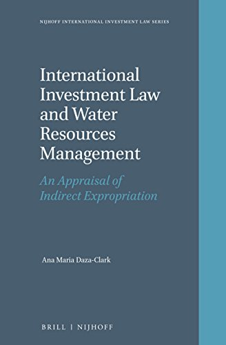 9789004335295: International Investment Law and Water Resources Management (Nijhoff International Investment Law)