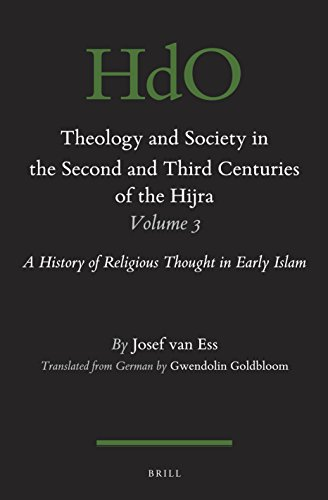 9789004342033: ARA-THEOLOGY & SOCIETY IN THE: A History of Religious Thought in Early Islam: 116/3 (Handbook of Oriental Studies / Handbuch der Orientalistik, Section One, The Near and Middle East)